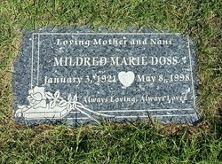 Mildred Marie <i>Kunkel</i> Doss
