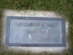 C. Elizabeth Betty <i>Greenleaf</i> Ake