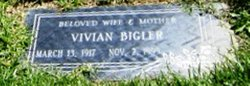 Vivian <i>Johnson</i> Bigler