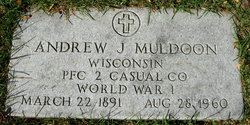 Andrew James Andy Muldoon