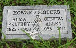Geneva Ginny <i>Howard</i> Allen