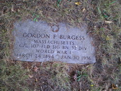 Gordon F. Burgess