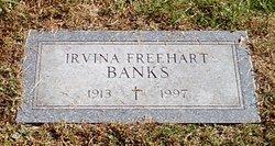Irvina <i>Freehart</i> Banks