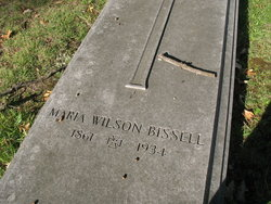 Maria <i>Wilson</i> Bissell