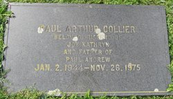 Paul Arthur Collier
