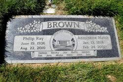 Antoinette <i>Hatch</i> Brown