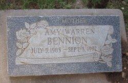 Amy <i>Warren</i> Bennion