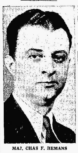 Maj Charles Fitch Hemans