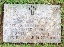 Alvie C Brown