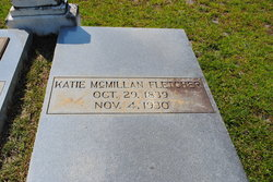 Catherine Katie <i>McMillan</i> Fletcher