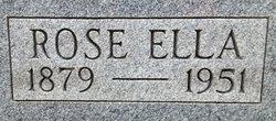 Rose Ella <i>Evans</i> Rhorer