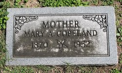 Mary Alice <i>Smith</i> Copeland