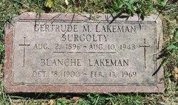 Gertrude Martha <i>Lakeman</i> Burgolty