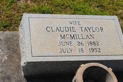Claudie <i>Taylor</i> McMillan