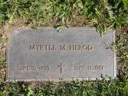 Myrtle M <i>Wood</i> Herod