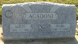 Hilma Augusta <i>Gustafson</i> Agadoni