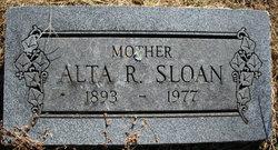 Alta Rebecca <i>Walker</i> Sloan