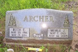 Ruth Esther <i>Herin</i> Archer