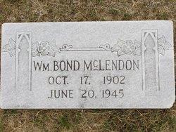 William Bond McLendon