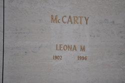 Leona M. <i>Spears</i> McCarty