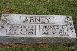 Francis L Abney