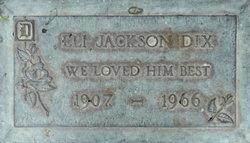 Eli Jackson Dix