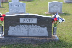 Edna A. <i>Tate</i> Pate
