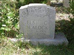 Elsie C Blalock