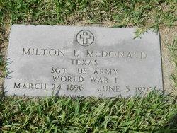 Milton Leroy McDonald