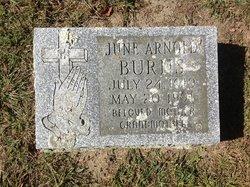 June Agnes <i>Arnold</i> Burns