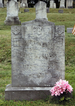 Mabel E <i>Williams</i> Benson
