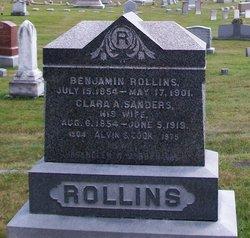 Clara A <i>Sanders</i> Rollins