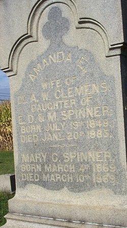 Amanda E <i>Spinner</i> Clemens