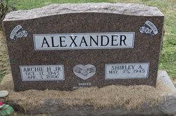 Archie H Alexander, Jr
