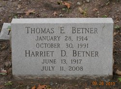 Harriet C. <i>DeMott</i> Betner