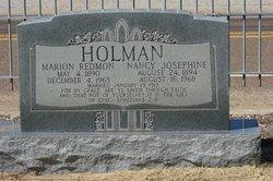 Marion Redmon Holman