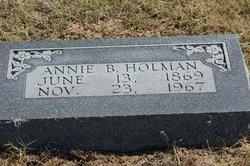 Annie Belle <i>Redmon</i> Holman