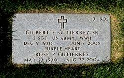 Gilbert Epifanio Gutierrez, SR