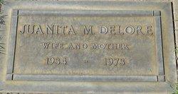 Juanita M <i>Johnson</i> Delore