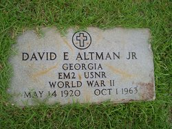 David Eugene Altman, Jr