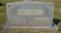 William B Holmes
