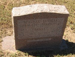 Mildred Lucille Mille <i>Balch</i> Allison