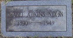 Mabel <i>Adkins</i> Nixon