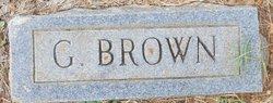 G Brown