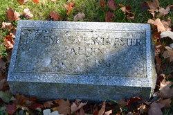 Genevieve <i>Sylvester</i> Allen