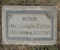 Ora <i>Johnson</i> Dalton