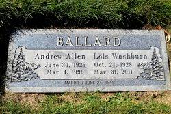 Lois <i>Washburn</i> Ballard