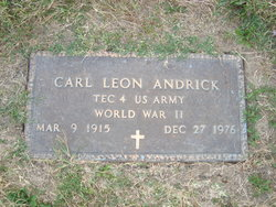 Carl Leon Andrick