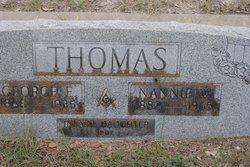 Nancy Nannie <i>Witt</i> Thomas