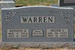 Hester Stella <i>Collins</i> Warren